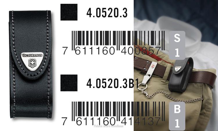 420f61a98cf75 Victorinox 4.0520.3 Etui pokrowiec ze skóry do scyzoryków 91mm 2-4 warstw  (nr 18 w katalogu)